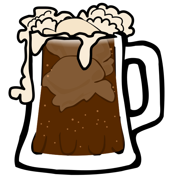 Root Beer Float Clipart - Root Beer Float Clipart
