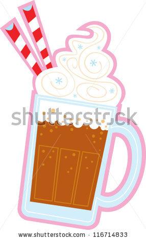 Root Beer Float - Root Beer Float Clip Art