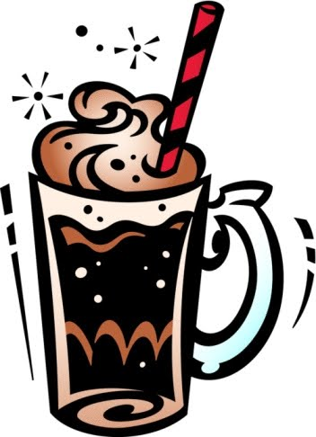 Root Beer Float Sign Chalk And Root Beer Float