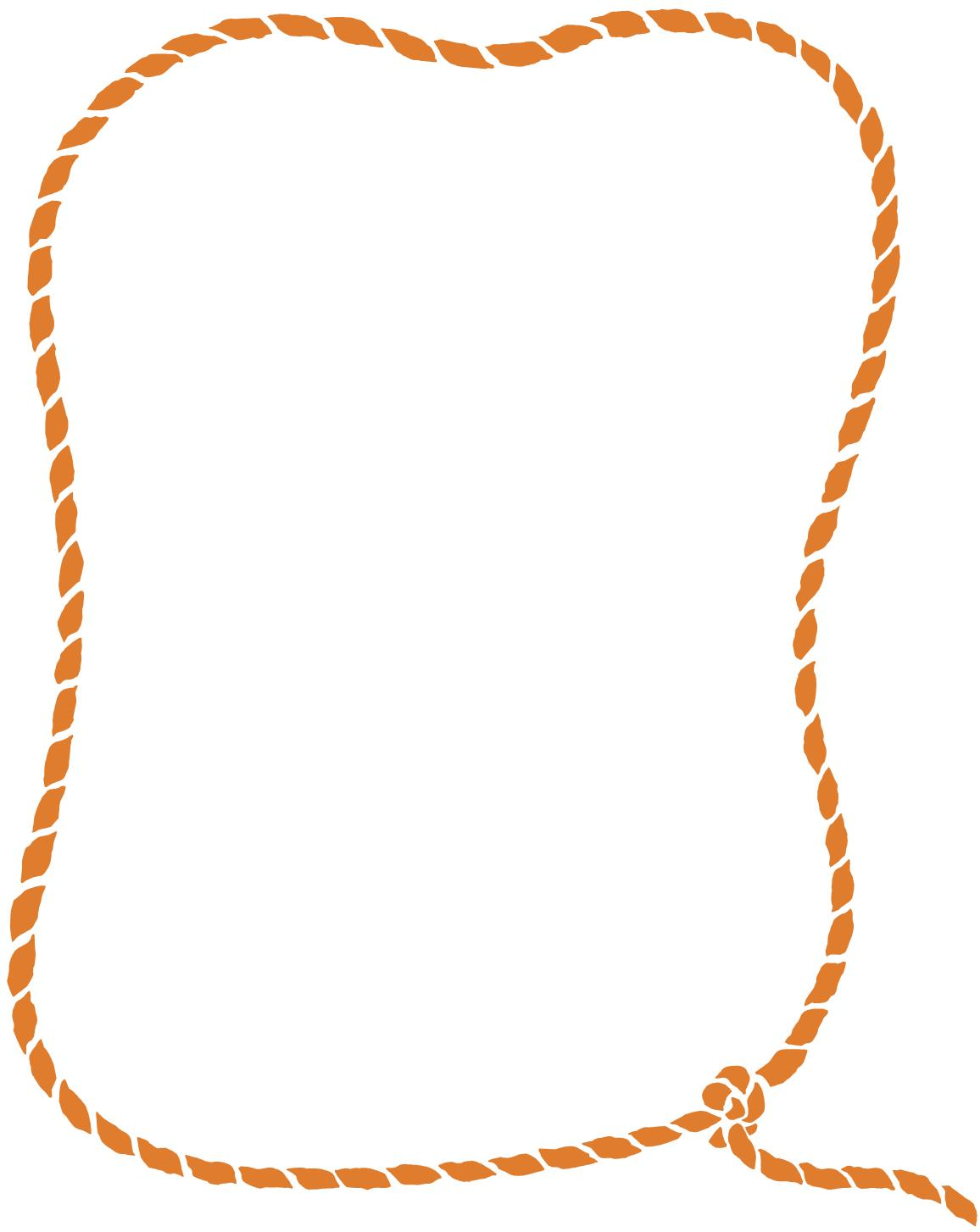 Rope Border Clip Art