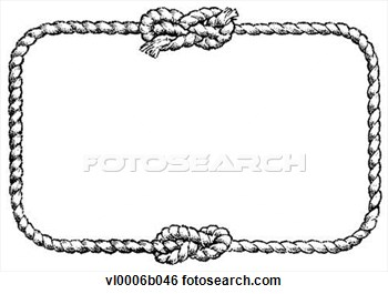 Rope Knot Border Clipart