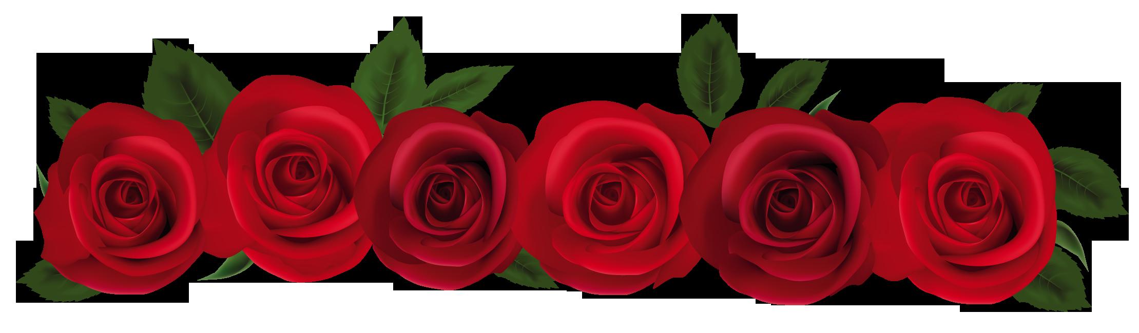 rose clip art border