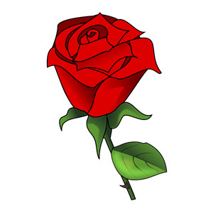 Rose Clip Art-rose clip art-9