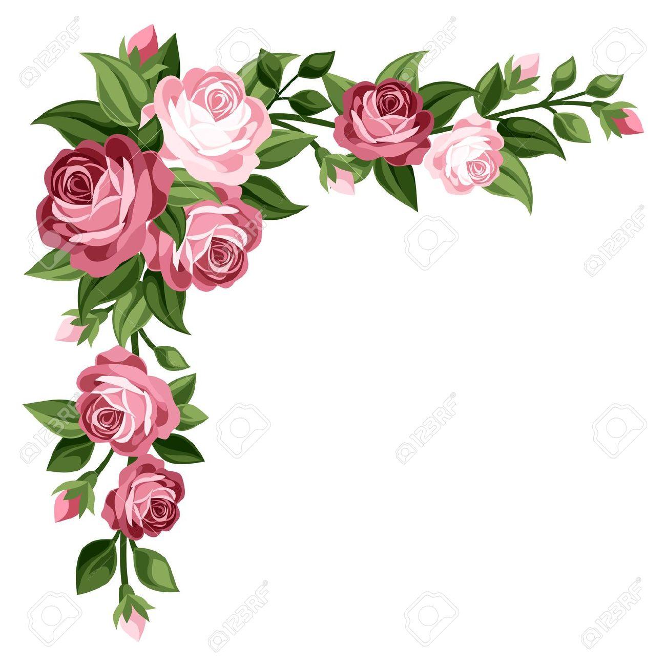 Rose Border Clip Art Gallery