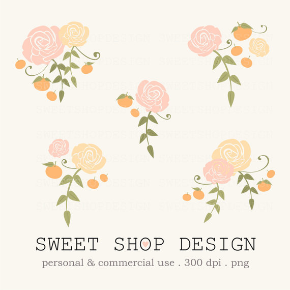 Rose Clip Art, Flower Clip Art ..-Rose Clip Art, Flower Clip Art ..-17