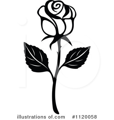 Rose Clipart Black And White Free. Rose -Rose Clipart Black And White Free. rose clipart-16