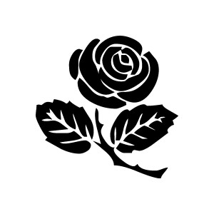 Rose Clipart. Free Graphics, Images And -Rose clipart. Free graphics, images and pictures of rosebud, vase, black,-13