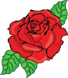 Rose Clipart-Rose Clipart-6
