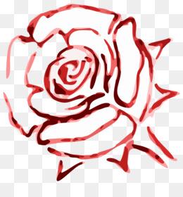 Rose Red Color Flower Clip Art - Rose Le-Rose Red Color Flower Clip art - rose leslie-17