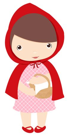 Rouge On Pinterest Red Riding Hood Big Bad Wolf And Clip Art