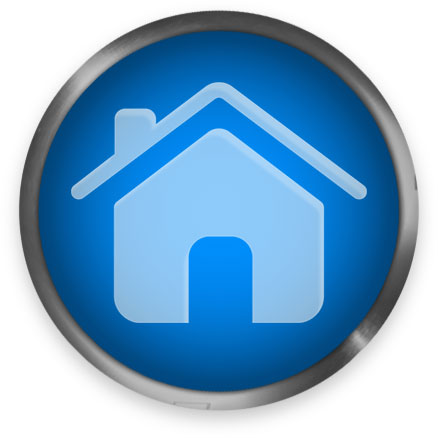 round home button blue - Clipart Buttons