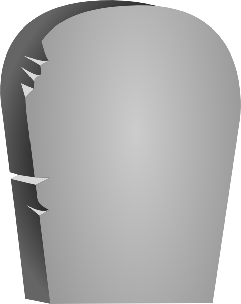 Rounded Tombstone Clip Art At Clker Com Vector Clip Art Online