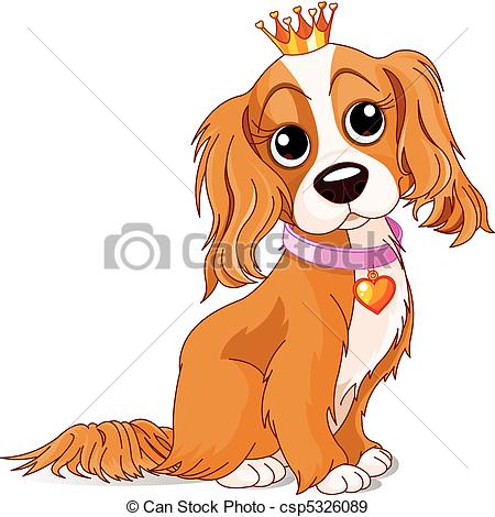 ... Royalty dog - Cavalier King Charles Spaniel with crown