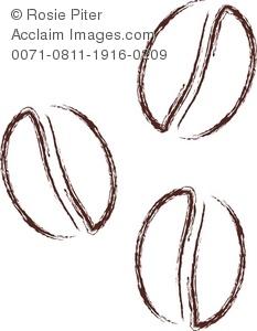 Royalty Free Clipar Illustration Of Coff-Royalty Free Clipar Illustration of Coffee Beans-15