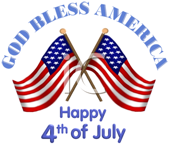 Royalty Free July 4th Clipart