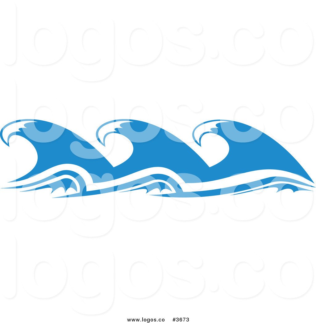 Royalty Free Ocean Wave Element Logo By -Royalty Free Ocean Wave Element Logo By Seamartini Graphics 3673-10