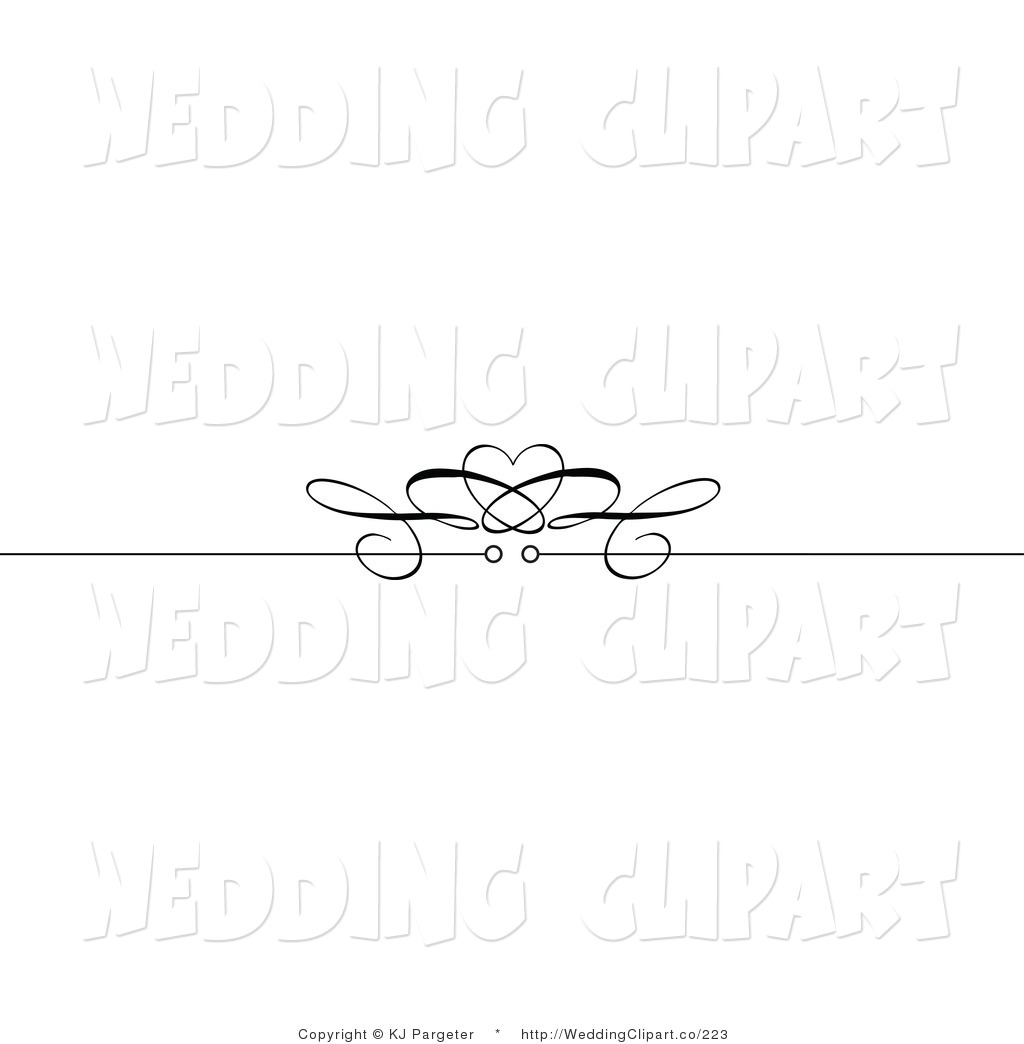 Royalty Free Page Break Stock Wedding Clipart Illustrations