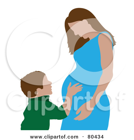Royalty Free Pregnant Illustrations By Pams Clipart 1