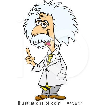 Royalty-Free (RF) Albert Einstein Clipar-Royalty-Free (RF) Albert Einstein Clipart Illustration #43211 by Dennis Holmes Designs-12