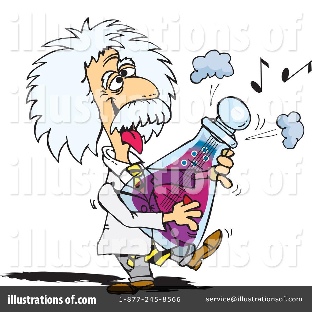 Royalty-Free (RF) Albert Einstein Clipar-Royalty-Free (RF) Albert Einstein Clipart Illustration #43224 by Dennis Holmes Designs-9