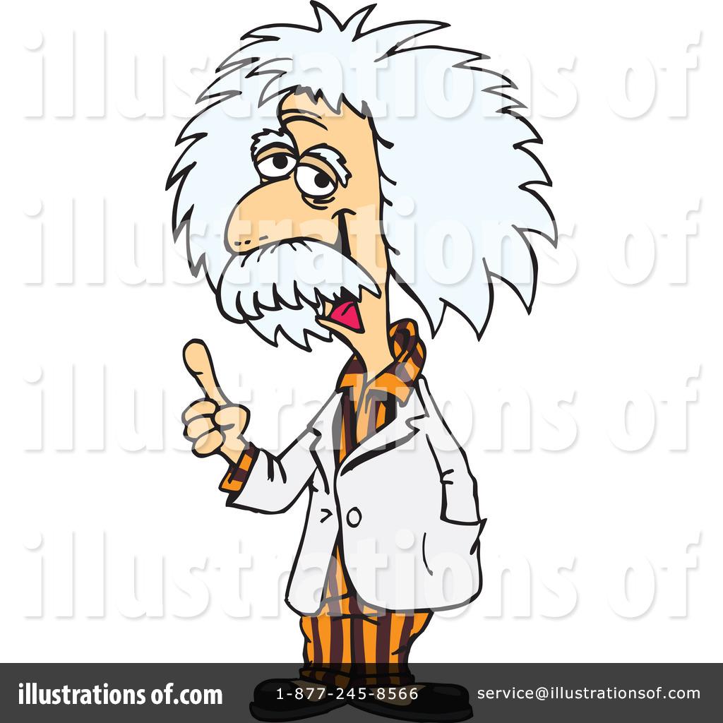 Royalty-Free (RF) Albert Einstein Clipar-Royalty-Free (RF) Albert Einstein Clipart Illustration #78930 by Dennis Holmes Designs-19