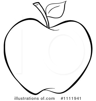 Royalty-Free (RF) Apple . - Clipart Of Apple