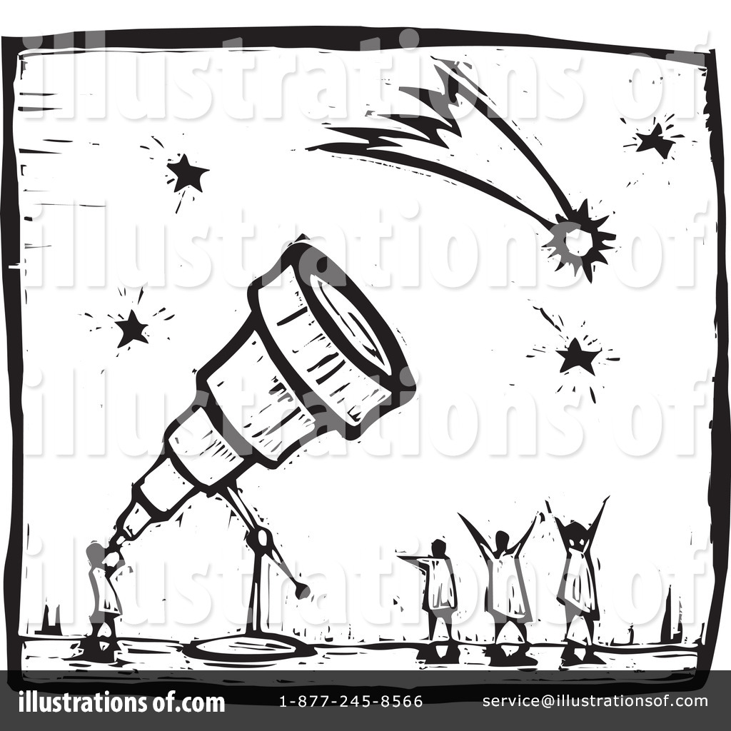 Royalty-Free (RF) Astronomy Clipart Illustration #94788 by xunantunich