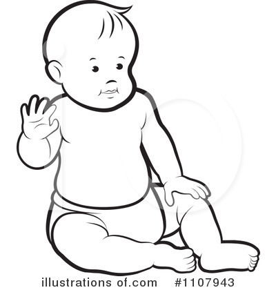 Royalty-Free (RF) Baby Clipart .