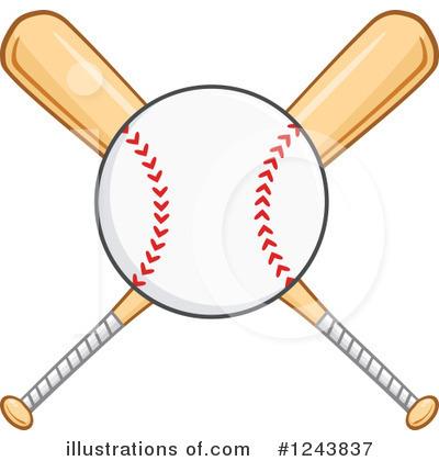 Royalty-Free (RF) Baseball Clipart Illus-Royalty-Free (RF) Baseball Clipart Illustration #1243837 by Hit Toon-18