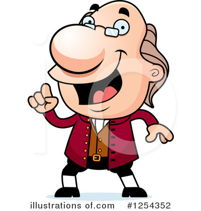 Royalty-Free (RF) Benjamin Franklin Clip-Royalty-Free (RF) Benjamin Franklin Clipart Illustration by Cory Thoman - Stock Sample-9