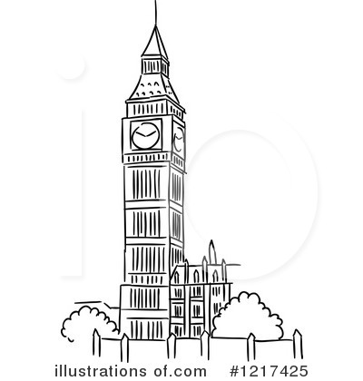 Royalty Free Rf Big Ben Clipart Illustration By Seamartini Graphics