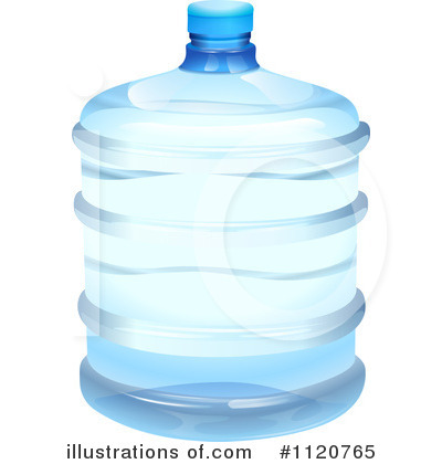 Royalty-Free (RF) Bottled Water Clipart -Royalty-Free (RF) Bottled Water Clipart Illustration #1120765 by colematt-8