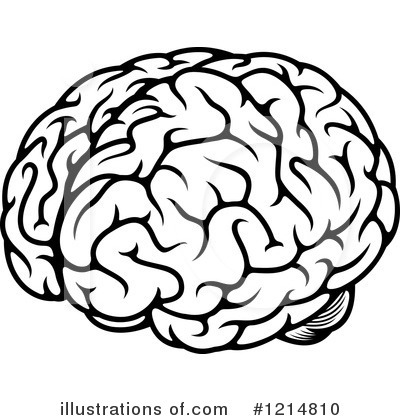 Royalty-Free (RF) Brain Clipart Illustration #1214810 by Seamartini Graphics