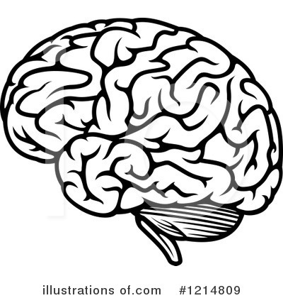 Royalty-Free (RF) Brain Clipart Illustration by Vector Tradition SM - Stock Sample