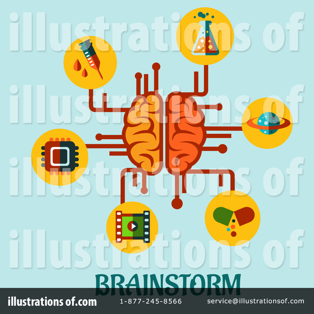 Royalty-Free (RF) Brainstorming Clipart -Royalty-Free (RF) Brainstorming Clipart Illustration by Vector Tradition SM - Stock Sample-14