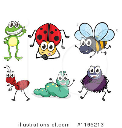 Royalty-Free (RF) Bugs Clipart Illustrat-Royalty-Free (RF) Bugs Clipart Illustration #1165213 by colematt-19