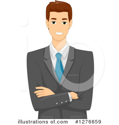 Royalty-Free (RF) Businessman Clipart Illustration by BNP Design Studio - Stock Sample