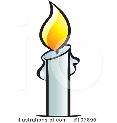 Royalty-Free (RF) Candle Clipart Illustration #1078951 by Lal Perera