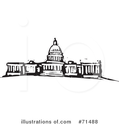 Royalty-Free (RF) Capital Building Clipa-Royalty-Free (RF) Capital Building Clipart Illustration #71488 by xunantunich-13