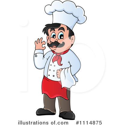 Royalty-Free (RF) Chef Clipart Illustrat-Royalty-Free (RF) Chef Clipart Illustration #1114875 by visekart-18