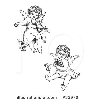 Royalty-Free (RF) Cherub Clipart Illustr-Royalty-Free (RF) Cherub Clipart Illustration #33970 by C Charley-Franzwa-15