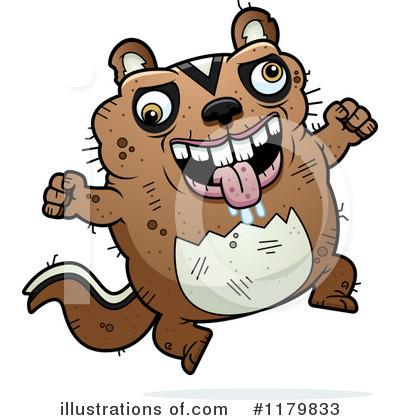Royalty-Free (RF) Chipmunk Clipart Illustration #1179833 by Cory Thoman