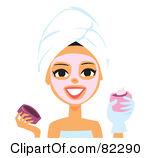 Facial Mask Clipart Makeup Be