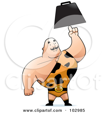 Royalty Free Rf Clipart Illustration Of -Royalty Free Rf Clipart Illustration Of A Strong Man In A Spotted-7