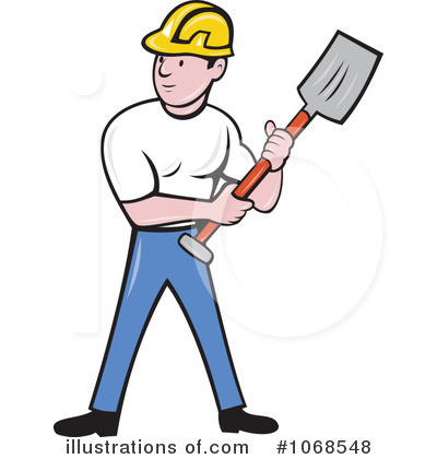 Royalty-Free (RF) Construction Worker Cl-Royalty-Free (RF) Construction Worker Clipart Illustration #1068548 by patrimonio-13