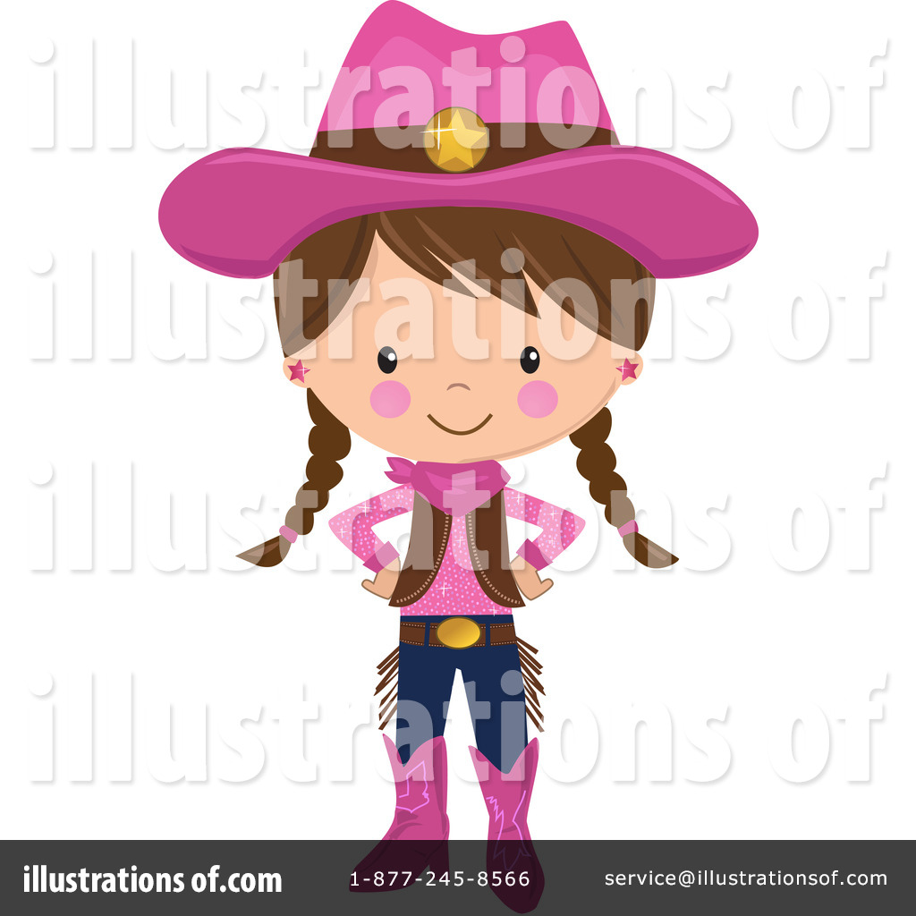 Royalty-Free (RF) Cowgirl Clipart Illust-Royalty-Free (RF) Cowgirl Clipart Illustration #1212546 by peachidesigns-16