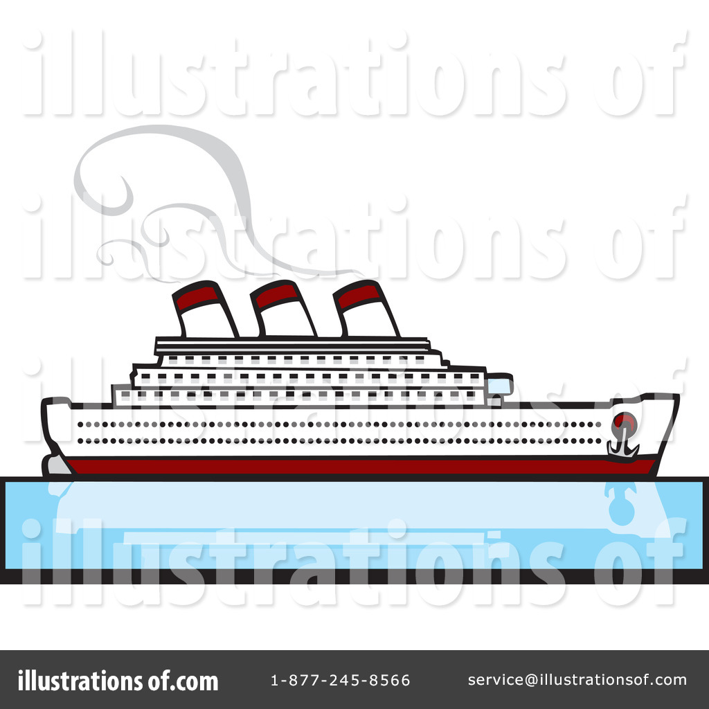 Royalty-Free (RF) Cruise Ship .
