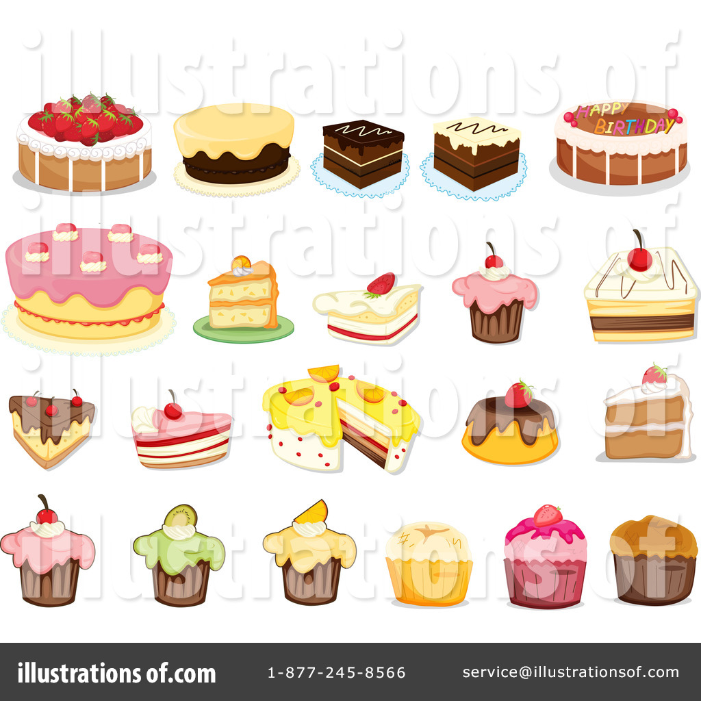 Royalty-Free (RF) Dessert Clipart Illust-Royalty-Free (RF) Dessert Clipart Illustration #1124084 by colematt-17