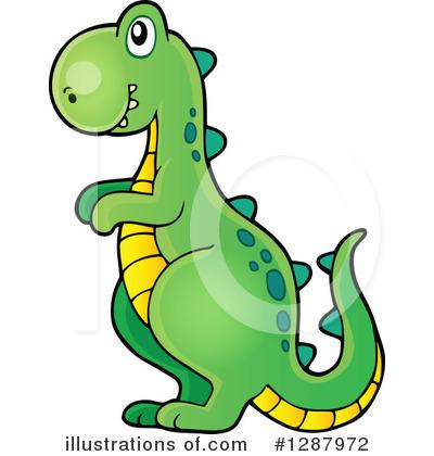 Royalty-Free (RF) Dinosaur Clipart Illus-Royalty-Free (RF) Dinosaur Clipart Illustration #1287972 by visekart-15
