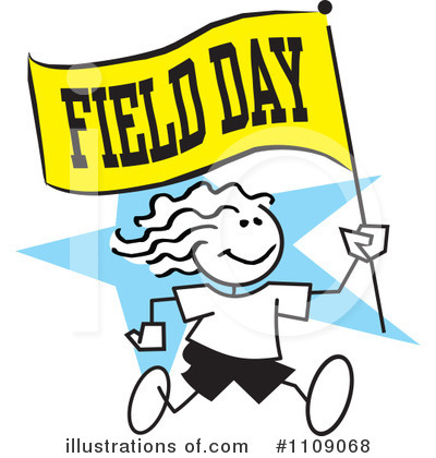 Royalty-Free (RF) Field Day C - Field Day Clipart